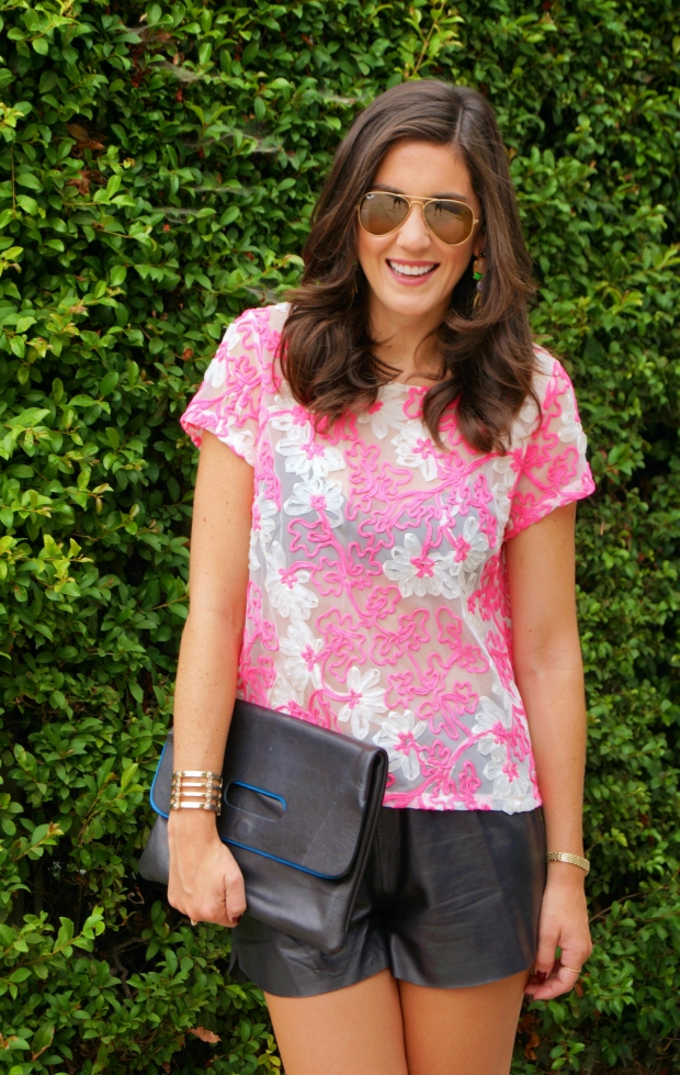 Anthropologie Pink Shirt